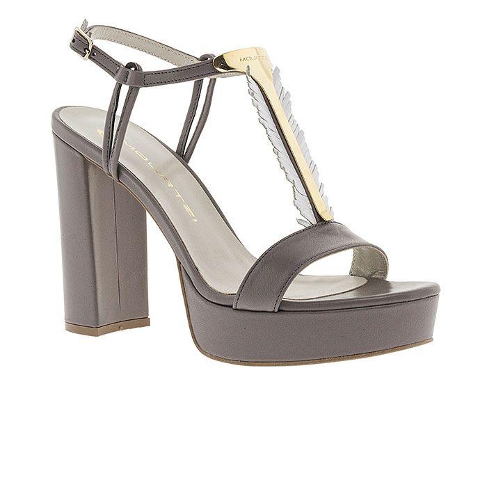 850F04-GREY LEATHERwww.mourtzi.com #sandals #heels #mourtzi #greekdesigners #wow