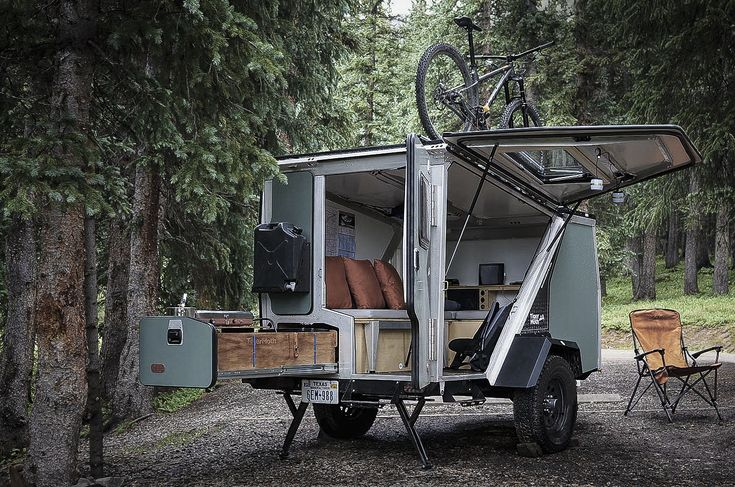 Creative  Trailer Camping Trailers Outdoor Camping Offroad Trailers Camping