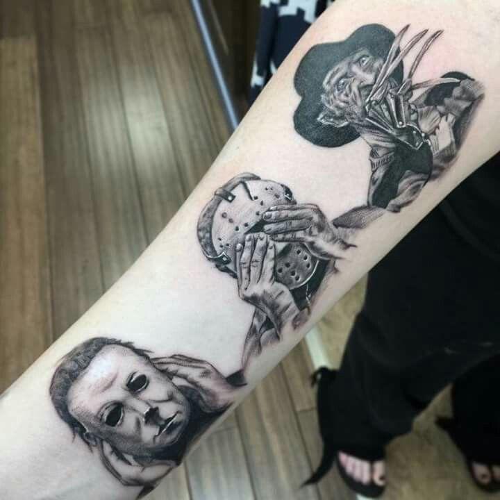 Hear no evil see no evil speak no evil  #villain #scarymovies #ink #tattoos