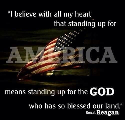 .....and the values and beliefs this country was founded on!..... In GOD we trust!!