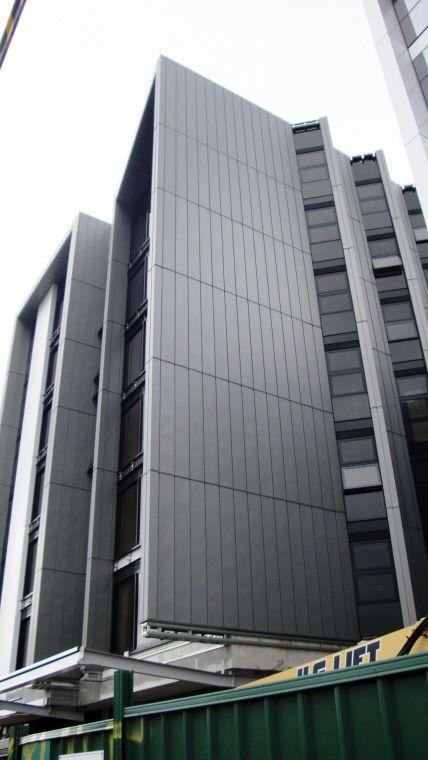 Australian National University SA4, Canberra ACT (Australia) by Nettletonbribe  #QuartzZinc #QUARTZZINC #Architecture #Project #Australia #University #Zinc #VMZINC #EducationalBuilding #Education