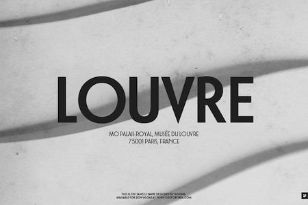 """This font is titled, """"Le Havre"""" and is my favorite among the many modern typefaces that reference the Art Deco period.  Geometry is the guiding force here and its use on this particular ad signifies everything it did back in the day:  luxury and elegance."""