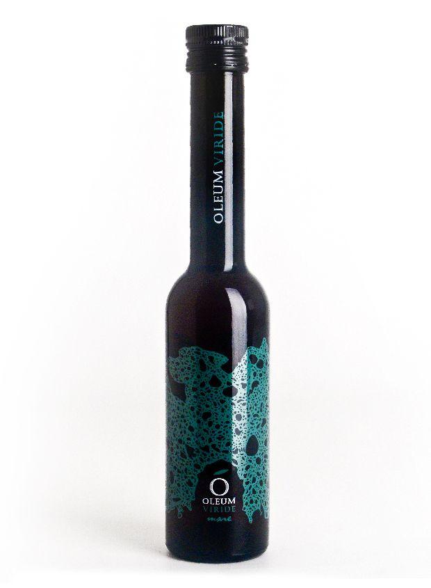 Aceite de Oliva aromatizado con Algas. Olive oil flavored with sea algae #marenostrumgourmet