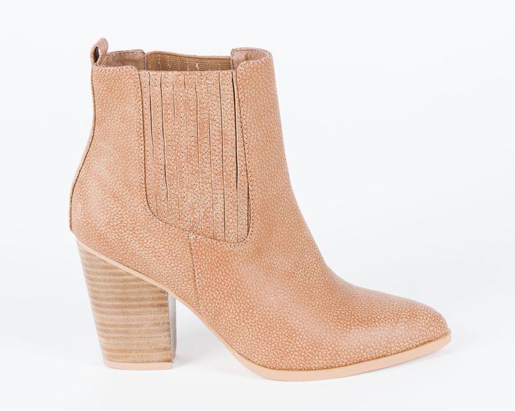Hael and Jax - Milan Textured Boots
