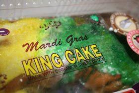 Deep South Dish: Mardi Gras King Cake with Pecan Praline Filling