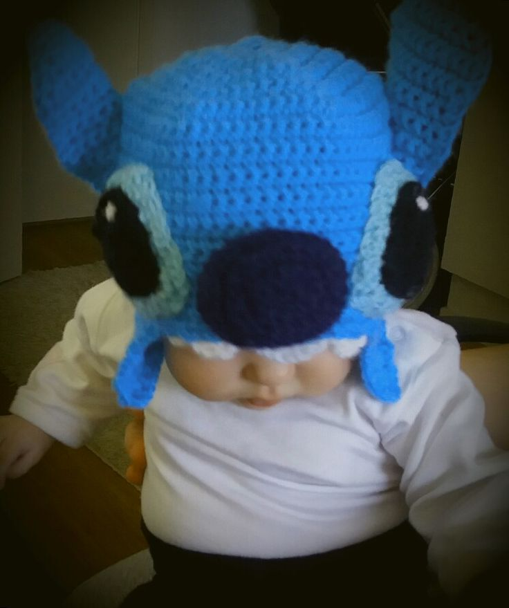 Stitch hat for baby