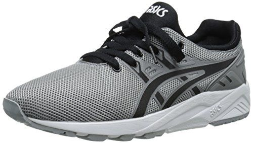 black and gray asics womens trainers