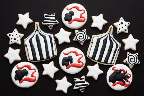 night circus cookies: The Circus, Circus Celebration, Circus, Dreams, Circus Inspiration, Nightcircus Cookies, Night Circus