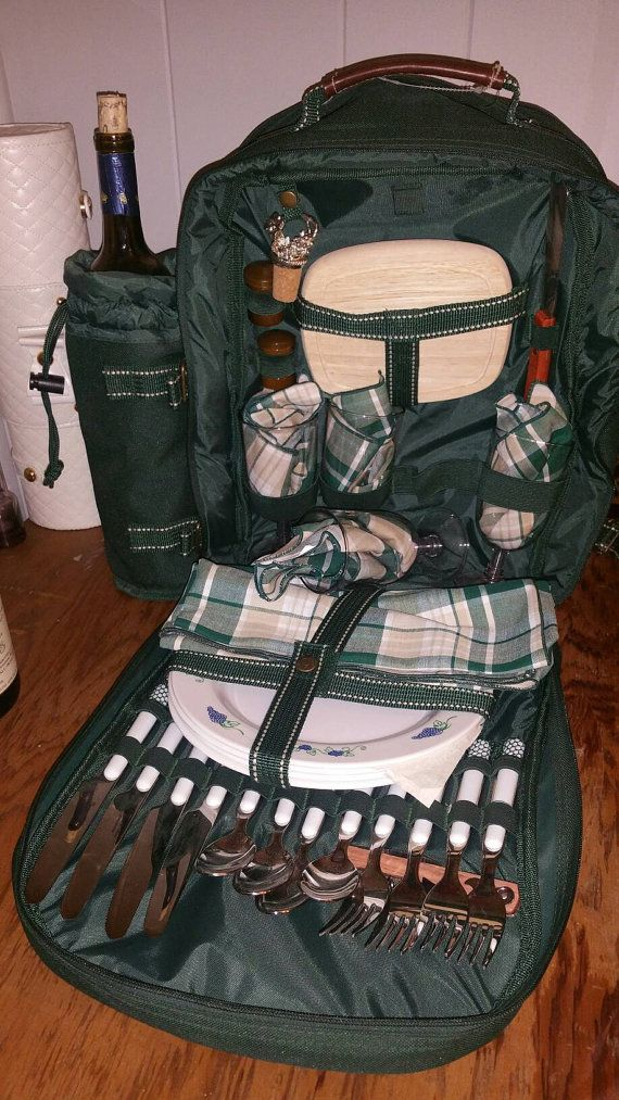 Check out this item in my Etsy shop https://www.etsy.com/listing/488236446/picnic-at-ascot-4-person-picnic-backpack