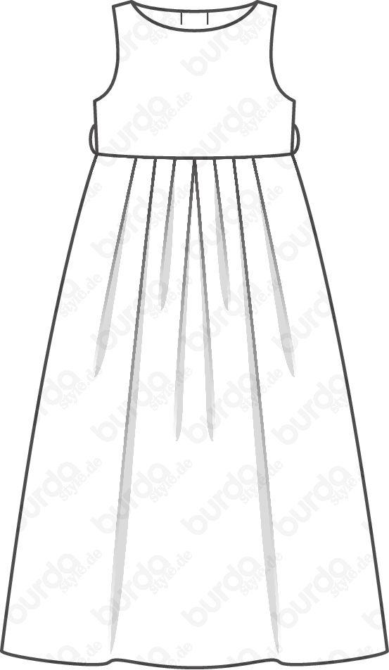 kommunionkleid lang 02 2012 142 schnittmuster maedchen