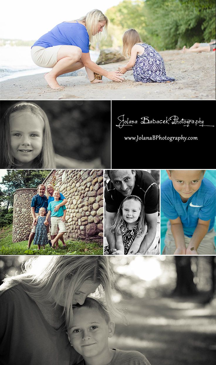 Photo-shoot at Durand Eastman Park. What a beautiful family! Their first family photos ever were a success =) To view more go to: www.JolanaBPhotography.com