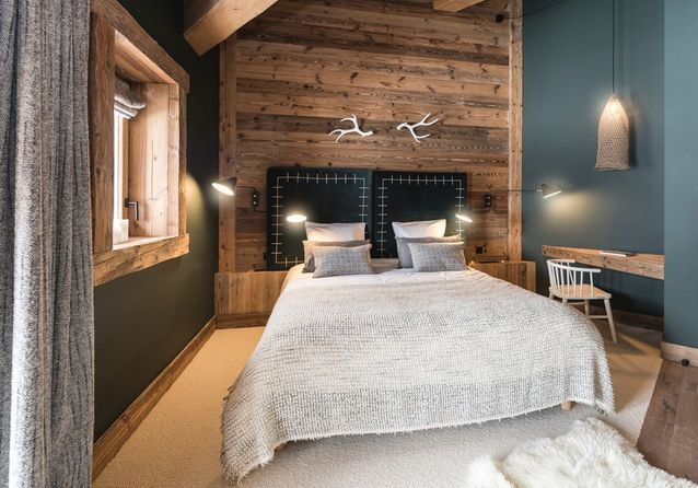 39+ Chambre style chalet moderne ideas