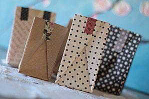 DIY: sachets cadeaux en origami