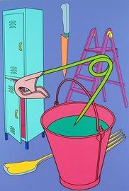 Michael Craig-Martin - Pricks, 2000