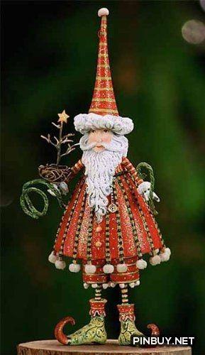 Santa - Christmas Decorations