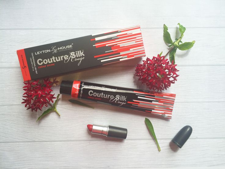 Couture Silk Rouge Permanent Colour. Product Brand Flatlay
