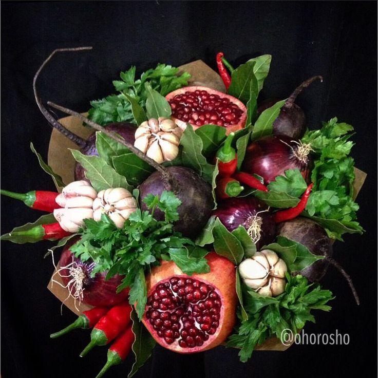 Очень хорошо: букеты из овощей *Первые в России*