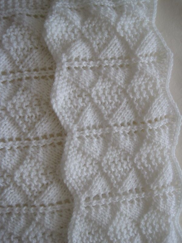 Knitted Baby Blanket