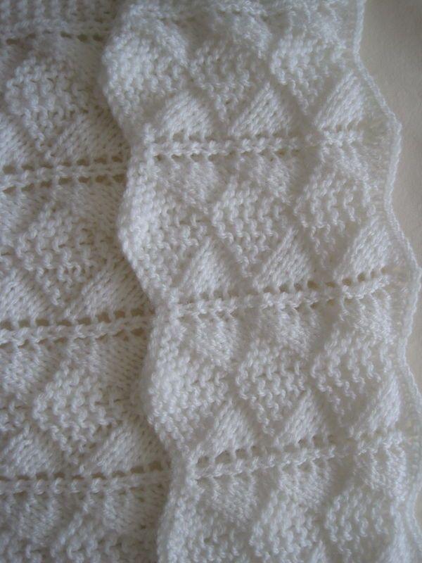 10 Easiest Knit Baby Blanket Free Patterns - DIY 4 EVER