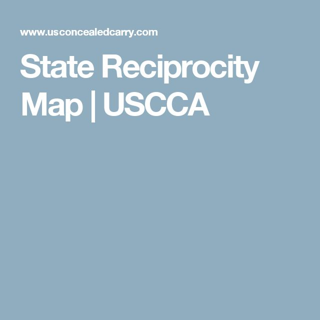 The Best Concealed Carry Reciprocity Map Ideas On Pinterest - Us concealed carry reciprocity map