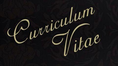 Curriculum vitae for agency -