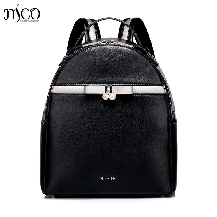 57.77$  Watch here - Women PU Leather Backpack Fashion Bow Female All match Daily Shoulder Bags Ladies Daypack Girl Schoolbag Brief Travel Rucksack  #magazineonlinebeautiful