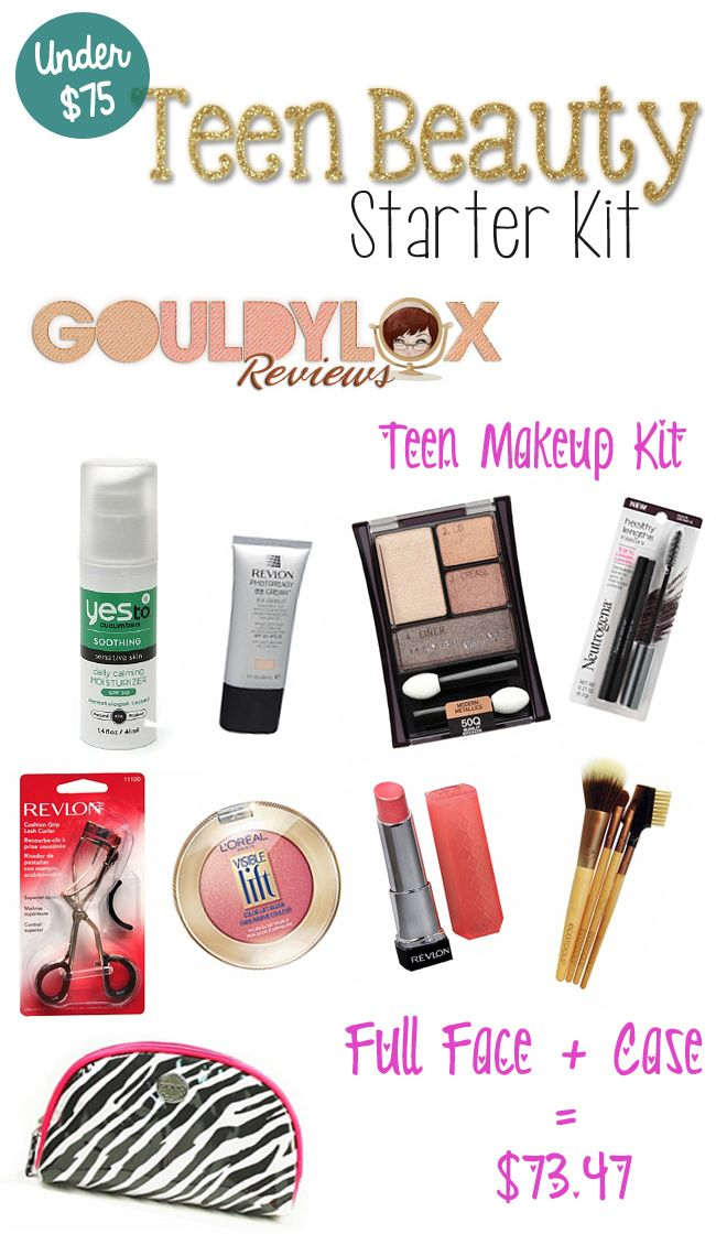 makeup set for teenagers. teen beauty makeup kit from gouldylox reviews set for teenagers k