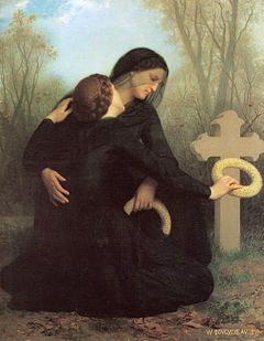 William-Adolphe Bouguereau (1825-1905) - The Day of the Dead (1859).jpg All Souls Day Nov.2