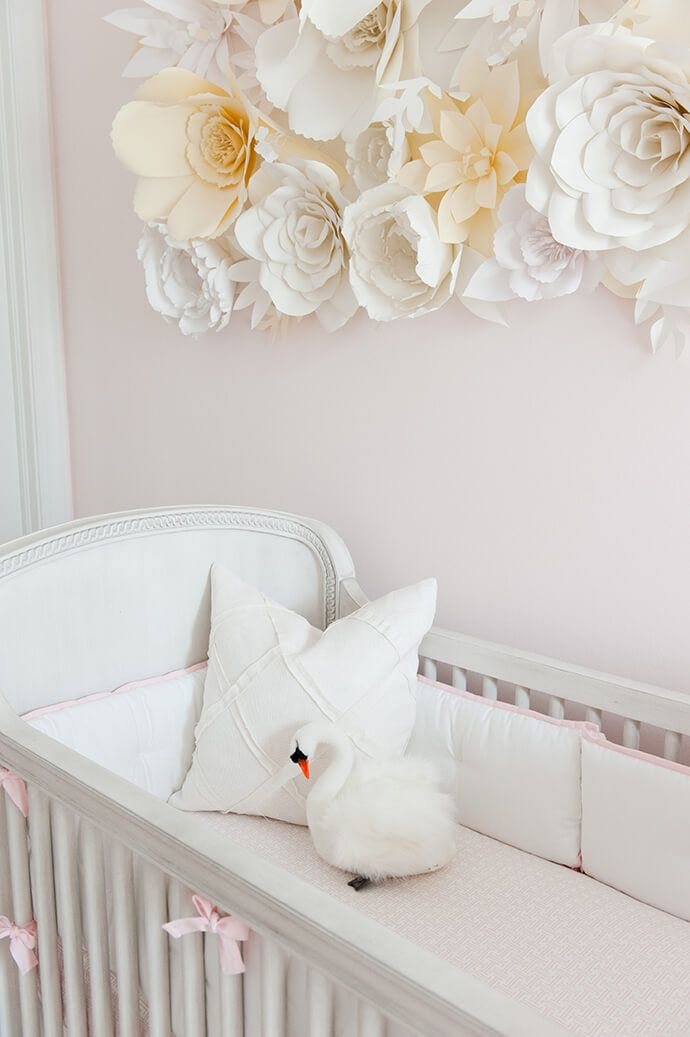 Touring A Sweet, Swan-Filled Nursery | Glitter Guide