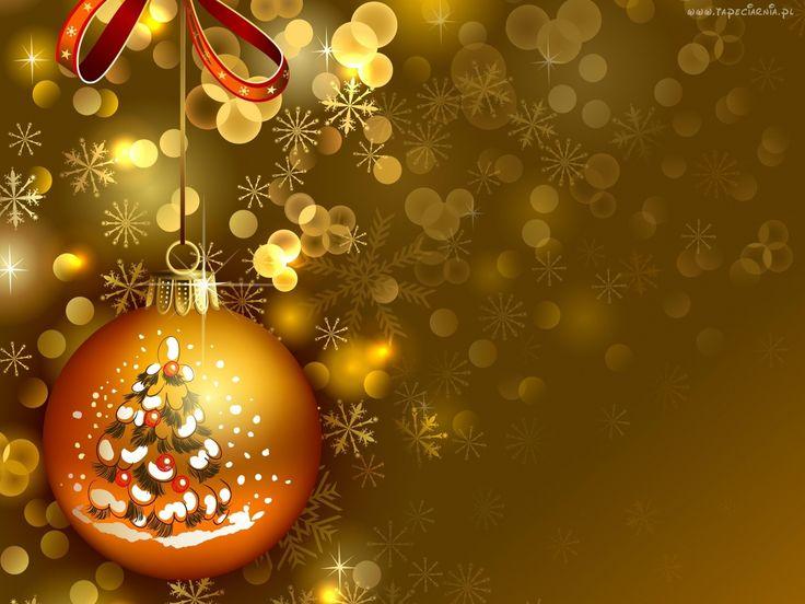 Boże, Narodzenie, Bombka, Grafika