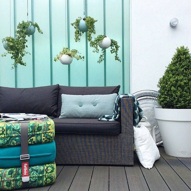 hanging flower pots b.for soft air by elho. www.makeithome.pl