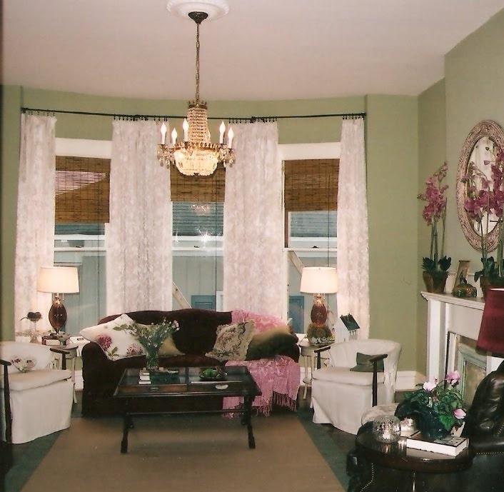 bay window living room dream home pinterest