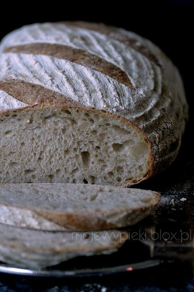 Moje Wypieki | Ulubiony chleb pszenny na zakwasie