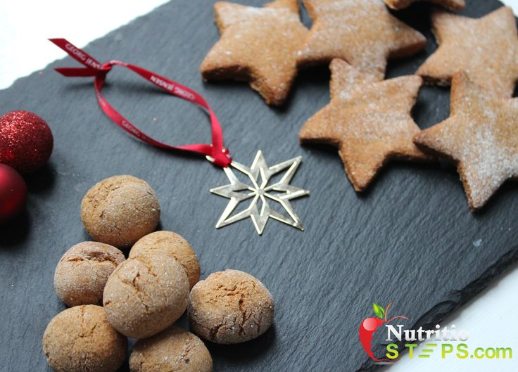 SUGAR AND BUTTER FREE HEALTHY GINGERBREAD BISCUITS & DANISH PEBERNØDDER CHRISTMAS INSPIRED!