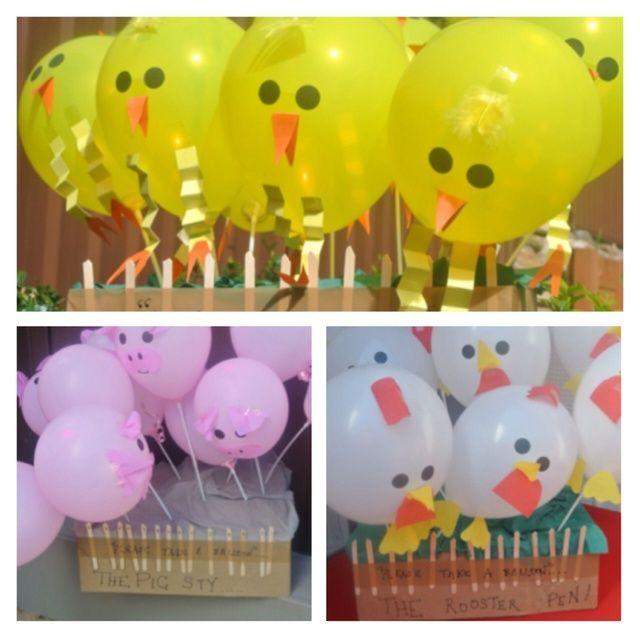 Barnyard Theme:   CatchMyParty.com: The Balloons
