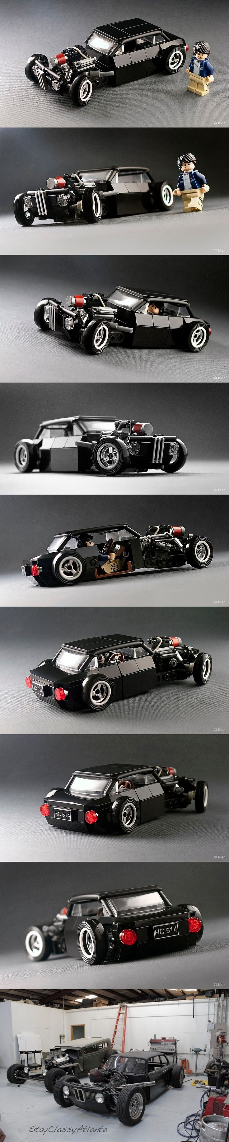 Gnarly BMW 2002 Rat Rod #BMW - a simply amazing little build