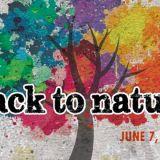 Back to Nature Artisti in tutto il mondo che espongono a cielo aperto le loro opere che hanno come tema comune la Natura, qualsiasi opere purchè si possa appendere ad una parete. A Roma l'esposizione si terrà ai Giardini di Piazza Vittorio Piazza Vittorio Emanuele II, Roma, Italia