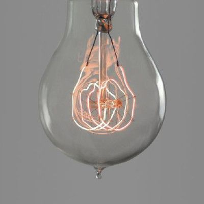 Nostalgia Lights Classic Quad Loop Bulb, from Nook