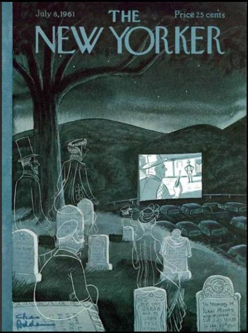 fuckyeahvintage-retro: The New Yorker cover (July 1961 ...