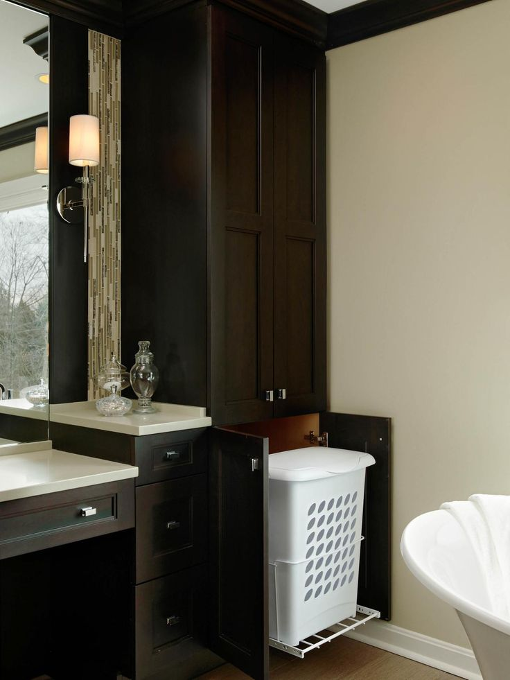 Baño Familiar Medidas:Bathroom Hamper Cabinet