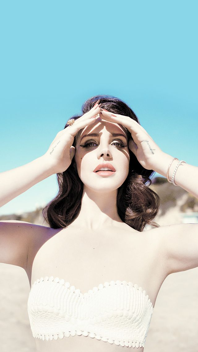 iPhone 5 Lana Del Rey wallpaper