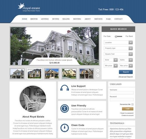 Royal Estate - Responsive Real Estate Wordpress Theme | Xtratheme