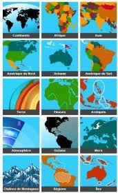 Un site interactif pour découvrir les principales notions de géographie tout en s'amusant.