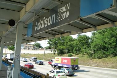 Addison Blue Line Station