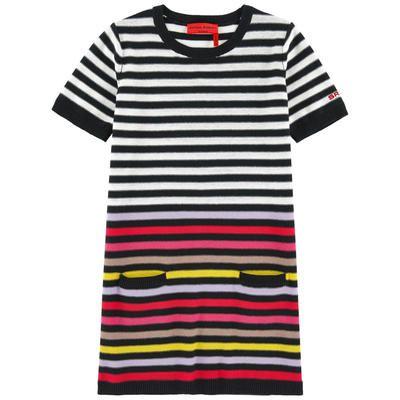 Sonia Rykiel Enfant - Striped sweater dress - 207946