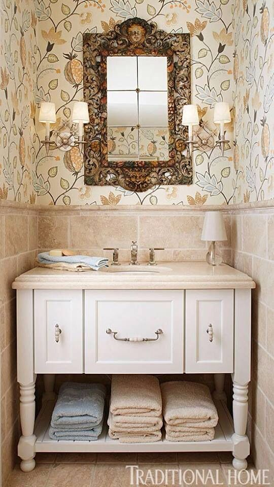 1000 images about powder room vanity on pinterest glass for Powder room vanities for small spaces