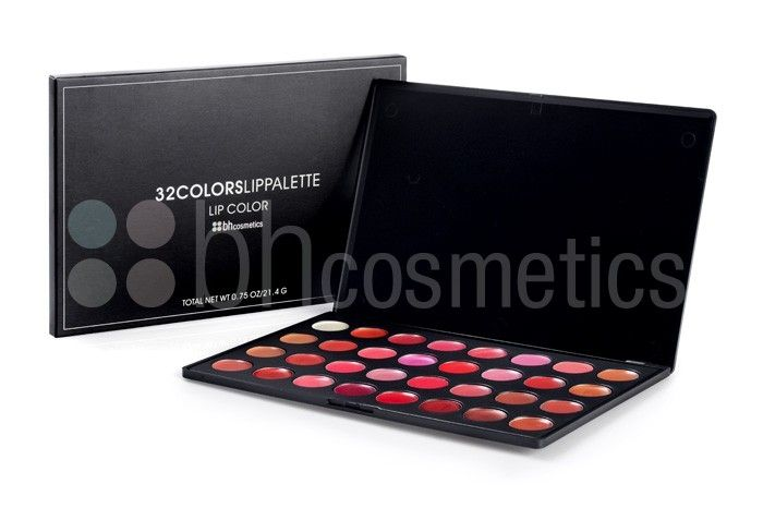 BH Cosmetics 32 Colour Lip Gloss Palette [BHL32] - 19.95 : BeautyStore4u, BH Cosmetics UK, Coastal Scents UK, Shany Cosmetic UK