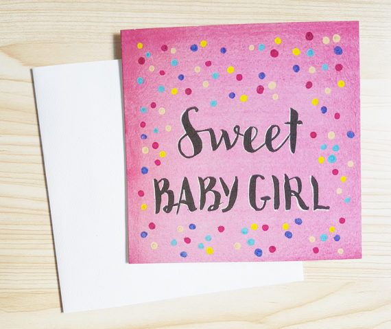 New baby cards just listed at https://www.etsy.com/au/listing/506228030/new-baby-cards-sweet-baby-girl-cards