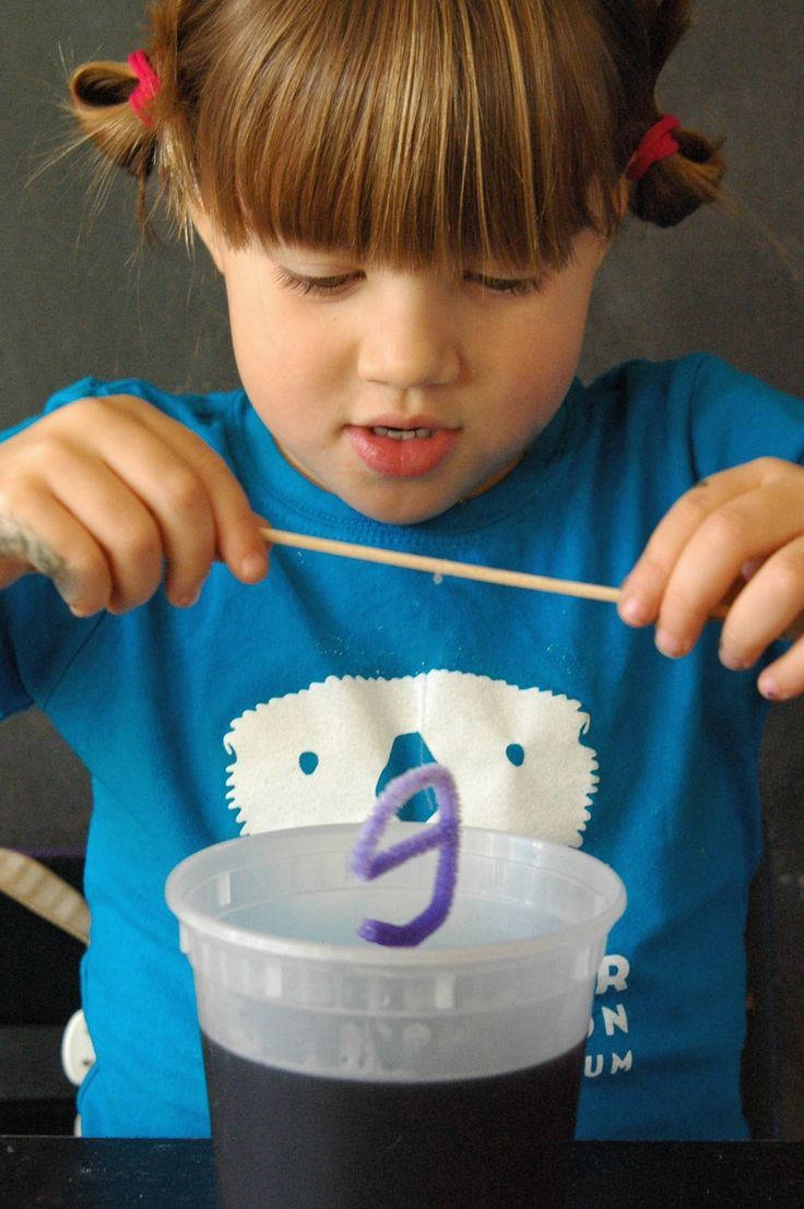 Activity for ages 3 and up. This easy-peasy, low cost science experiment uses borax to grow crystal names. Whether your child is 3 or 103, they're sure to get excited about seeing their name shimmer and sparkle in the sunlight. Crystal names are one of our favorite kids' science experiments yet. P.S. Looking for some easy ways to add super …