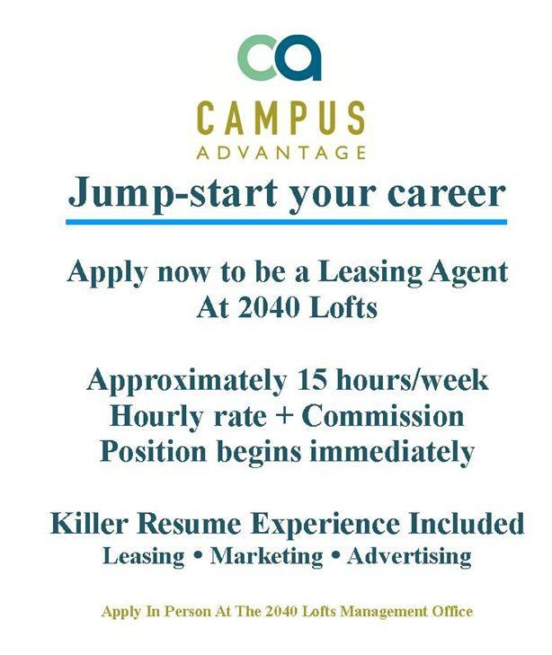 Working as a leasing agent is not only fun, but the experience - resume for leasing consultant